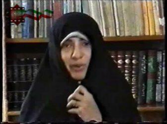 خاطره گویی شیر زن رزمنده و ایثارگر – فیلم
